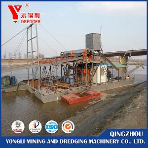 Jet Suction Iron Sand Dredger