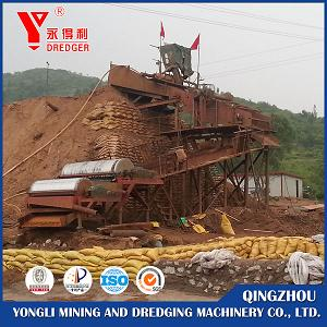 Dry Sand Iron Separating Plant