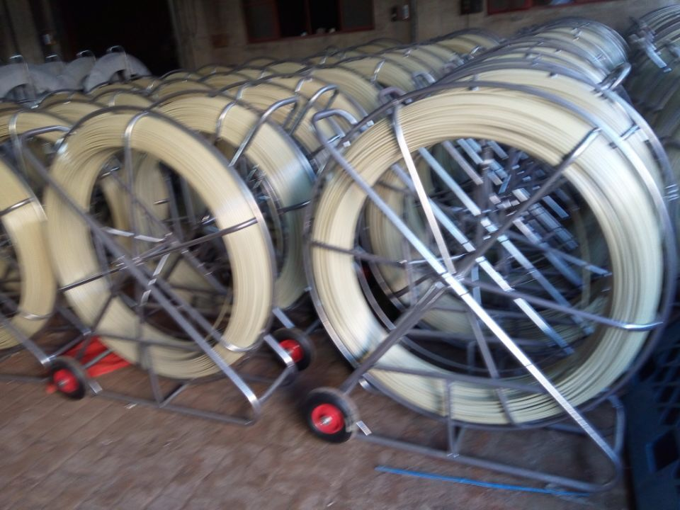 fiberglass duct rod with wire coating