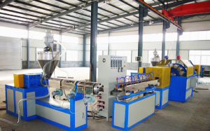 PVC Fiber Reinforced Pipe Extrusion Equipment