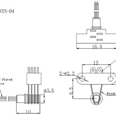 KYS04 Separate Slip Ring