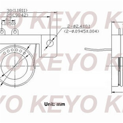 KYS06 Separate Slip Ring