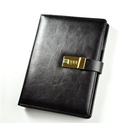 Notebook With Business Holder