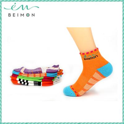 hk amazon fashion antibacterial deodorant colorful striped woman knee high sock