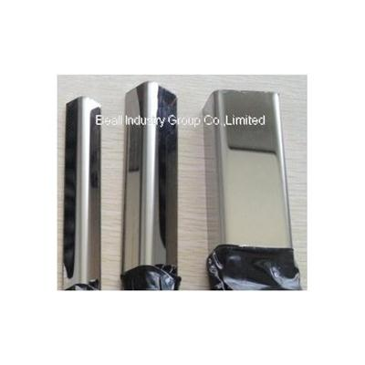 Stainless Steel Polished Channel Angle