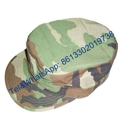 Desert Army Green Navy Blue Camouflage Military BDU Hat
