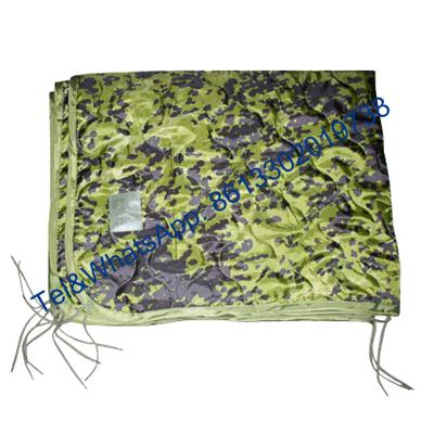 Solid color Digital Camouflage Nylon Oxford Polyester Military Poncho Liner