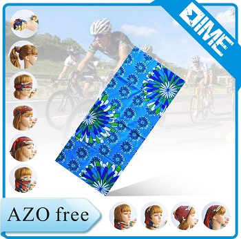 High Quality Digital Printing Running Multifunctional Seamless Tube Bandana