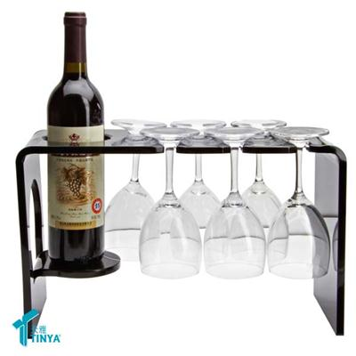 Lucite Wine Display