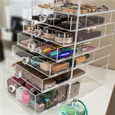 Lucite Cosmetic Drawer