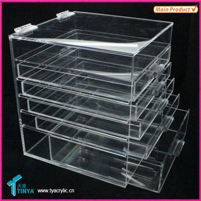 Plexiglass Cosmetic Container
