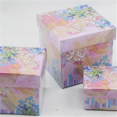 Three Pcs Paper Cany Box