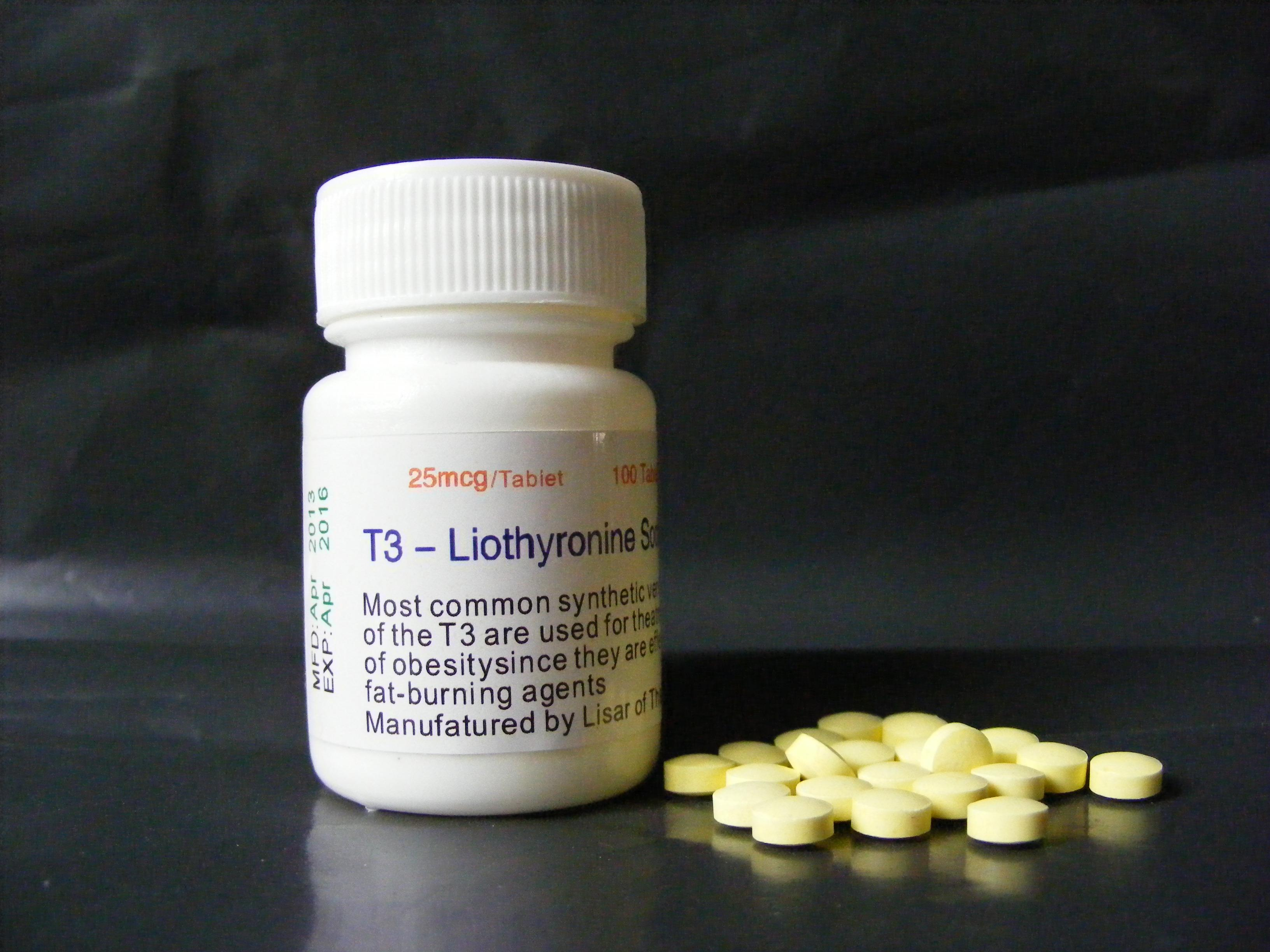 T3-liothyronine sodium 100Tablets Body Builder Steroid Factory Price Safe Express