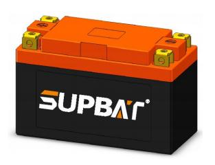 12.8V 2.2Ah LiFePO4 High Rate Battery For Start