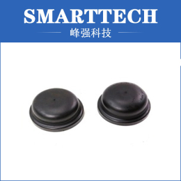 2 Cavity Black Rubber Bottle Cap Moulding