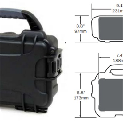 12V 20Ah LiFePO4 Battery With Case