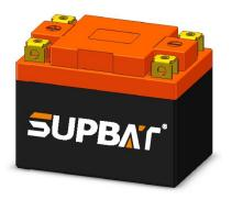 12.8V 1.5Ah LiFePO4 High Rate Battery For Start