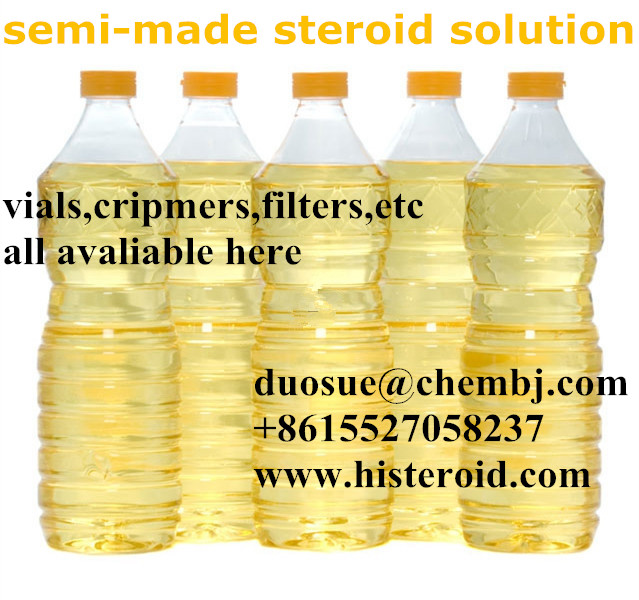 Parabolan Trenbolone hexahydrobenzylcarbonate 100 mg/ml Semi-made Oil Solution//duosue@chembj.com