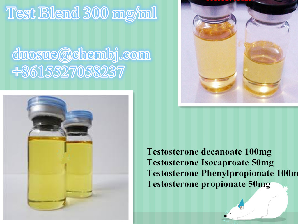 Tri Blend 300 mg/ml Semi-made Oil Solution//duosue@chembj.om