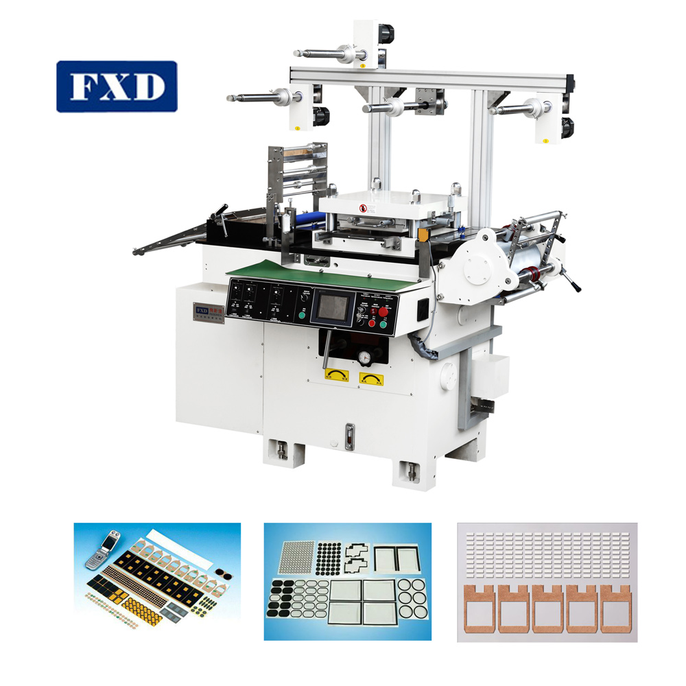 Flat bed die punching machine