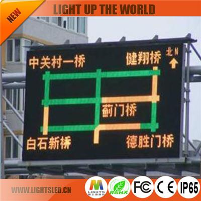 P8 Dip Led Traffic Sign Displays