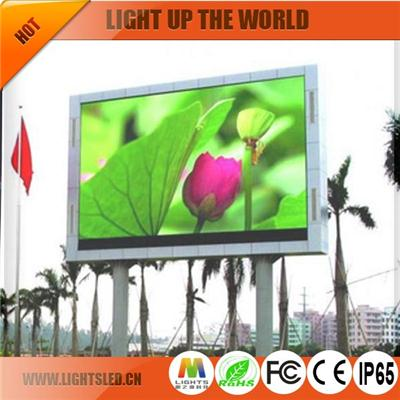 P31.25 Outdoor Led Traffic Display
