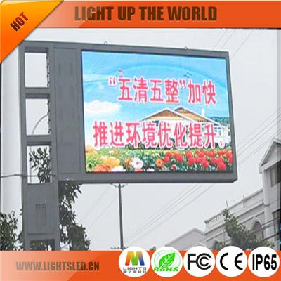 P20 Outdoor Led Display Traffic Sign