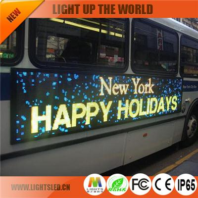 LS-1858A bus led display boards