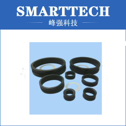 Black Circle , Silicone Rubber Ring