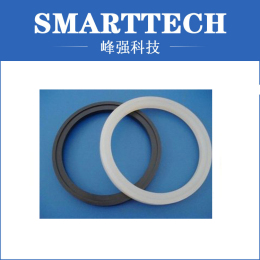 Black And White Circle, Circle For Cups, Silicone Rubber Molding