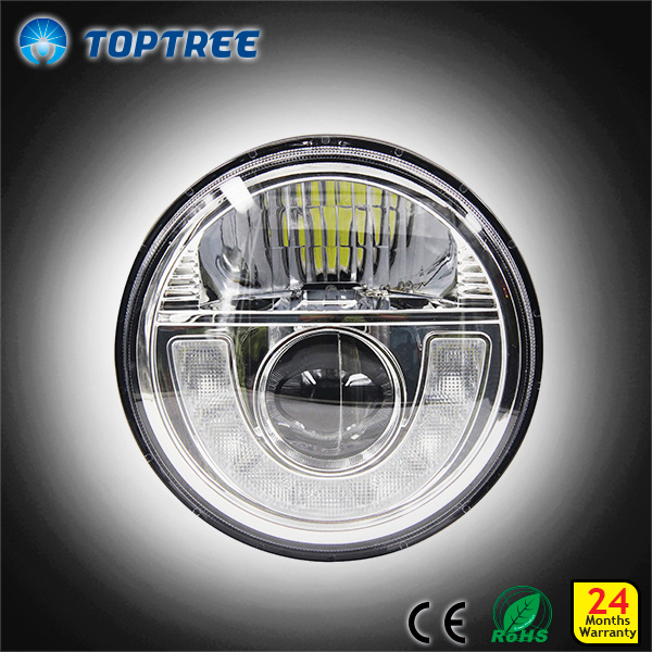7 inch round LED Head Light