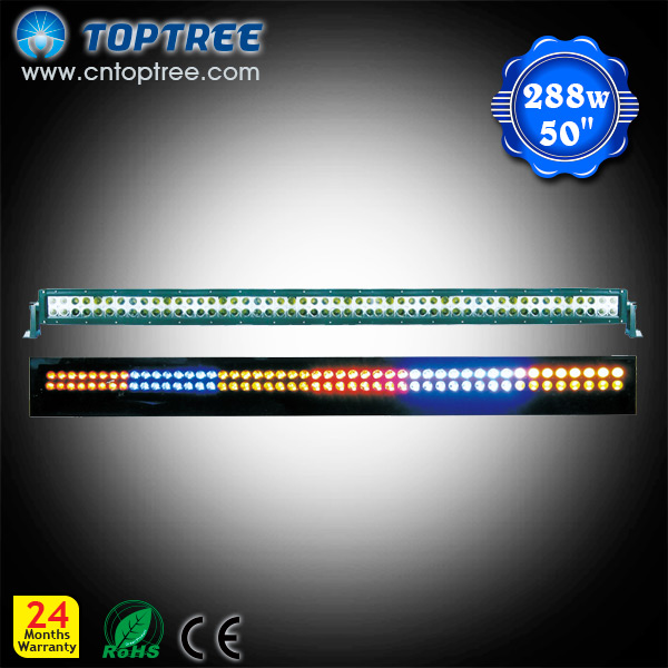 288w 50inch Remote Controller Mulit-performance LED Light Bar