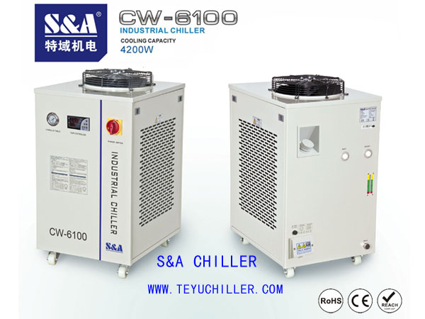 Thermostatic water bath/chiller with circulator S&A brand