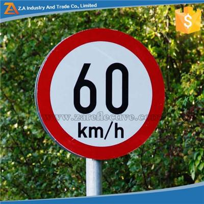 Customized Reflective Material Printable Traffic Road Sign