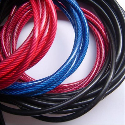 PP PVC PE Nylon Coated Steel Wire Rope