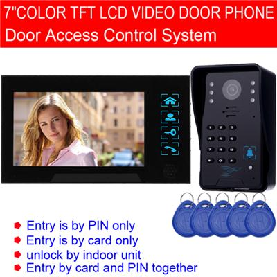 7inch Wired Video Door Intercom