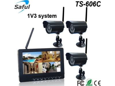TS-606C 1V3 wireless monitor system