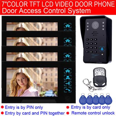 TS-806MJIDSNRED14 Wired Video Door Phone