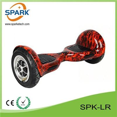 Fashion Design Big Wheel Inflatable Bluetooth Scooter Hoverboard SPK-LR