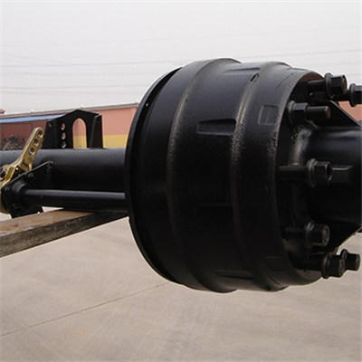 127 Round Beam Trailer Axle