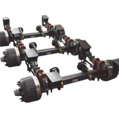 3 Axle German Type Mechanical Suspension