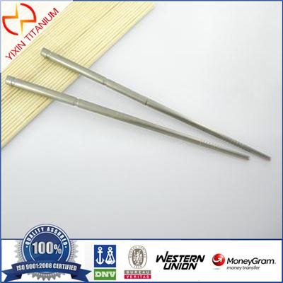 Healthy And Anti-corrosion Titanium Chopsticks