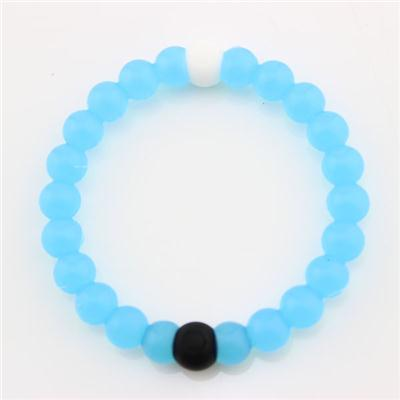 Fashion Blue Silicone Bracelet