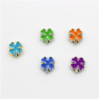 Four Leaf Clover Floating Charm