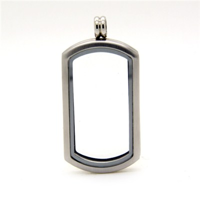 Silver Magnetic Heritage Living Locket