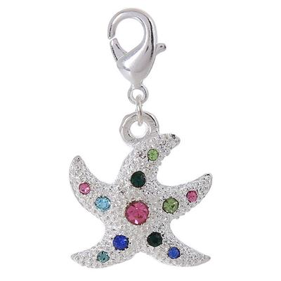 Dangle Charm Pendant Starfish