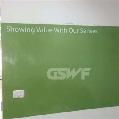 PVC Projection Whiteboard Sticker