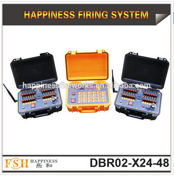 500 M wireless control firing system, rechargeable pyrotechnic fire system, 48 cues fireworks system