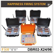 500 M wireless control firing system, rechargeable pyrotechnic fire system, 96 cues fireworks system