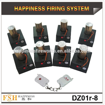 remote control fireworks firing system( 8 cues cold fireworks system), fountians fireworks firing system, China supplier